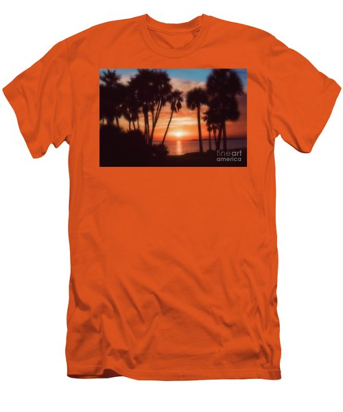 Florida- Sunset Memories Men's T-Shirt (Athletic Fit)