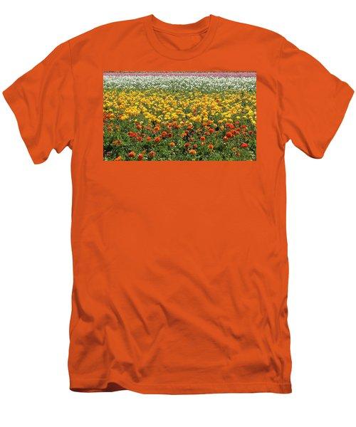 Flower Blanket From Carlsbad Men's T-Shirt (Athletic Fit)