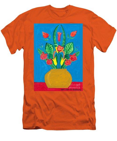 Flower Bowl Men's T-Shirt (Athletic Fit)