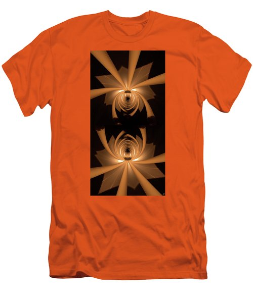 Flower Light Men's T-Shirt (Athletic Fit)