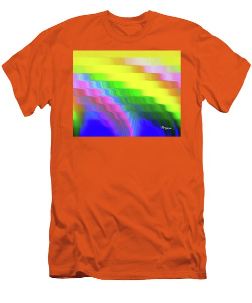 Flowing Whimsical #113 Men's T-Shirt (Slim Fit) by Barbara Tristan