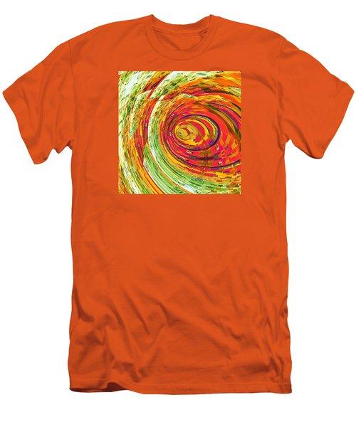 Fluorescent Wormhole Men's T-Shirt (Athletic Fit)