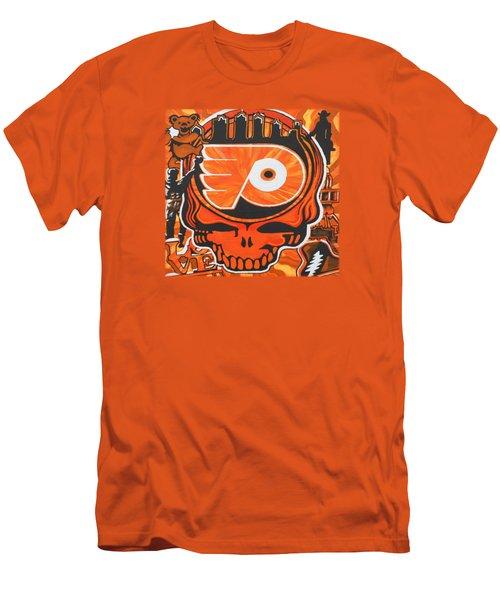 Flyer Love Men's T-Shirt (Slim Fit) by Kevin J Cooper Artwork