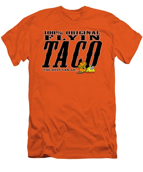 Flyin Taco 005 Men's T-Shirt (Athletic Fit)