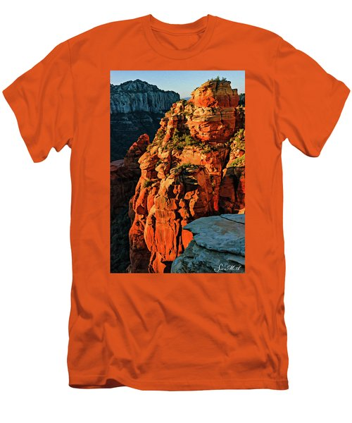Flying Buttress 06-034 Men's T-Shirt (Athletic Fit)