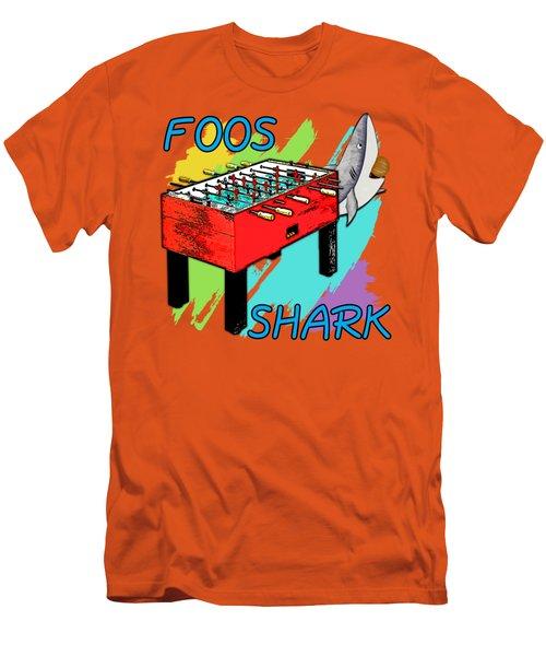 Foos Shark Men's T-Shirt (Slim Fit) by David G Paul