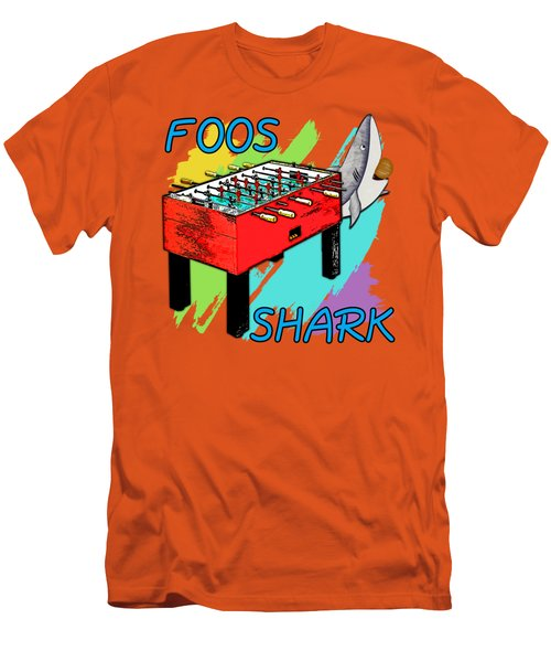 Foos Shark Men's T-Shirt (Athletic Fit)