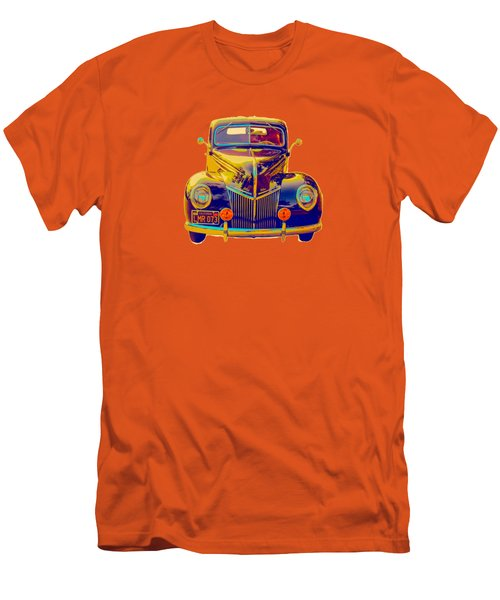 Ford Deluxe Coupe Transfer Men's T-Shirt (Slim Fit) by Mim White