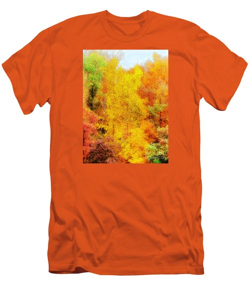 Forest Fire Men's T-Shirt (Slim Fit) by Craig Walters