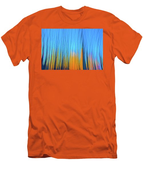 Men's T-Shirt (Slim Fit) featuring the photograph Forest Fire by Tony Beck