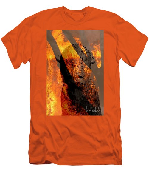 Forged In Fire Men's T-Shirt (Athletic Fit)