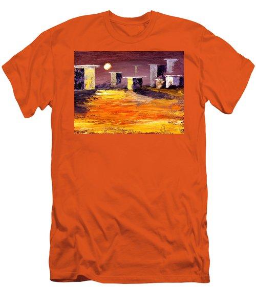 Fragile Structures Men's T-Shirt (Athletic Fit)