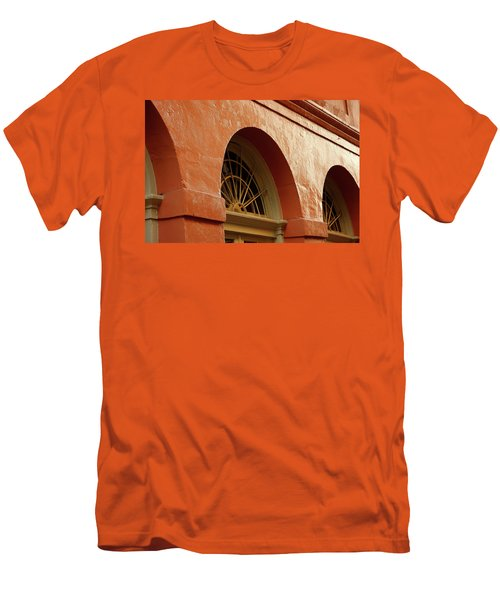 Men's T-Shirt (Slim Fit) featuring the photograph French Quarter Arches by KG Thienemann