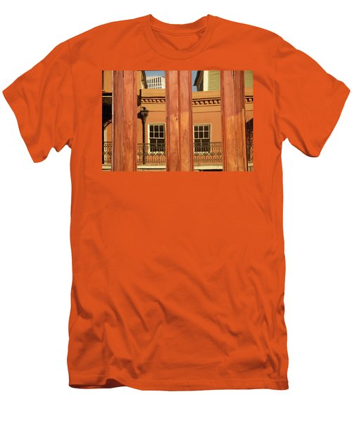 French Quarter Reflection Men's T-Shirt (Athletic Fit)