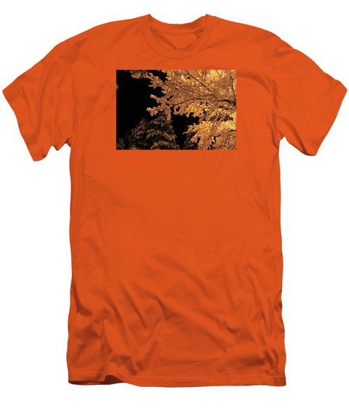 Men's T-Shirt (Slim Fit) featuring the photograph Fresh Cloak by Gary Kaylor