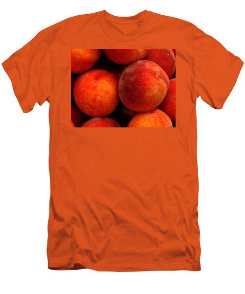 Fresh Fuzzy Peaches Men's T-Shirt (Athletic Fit)