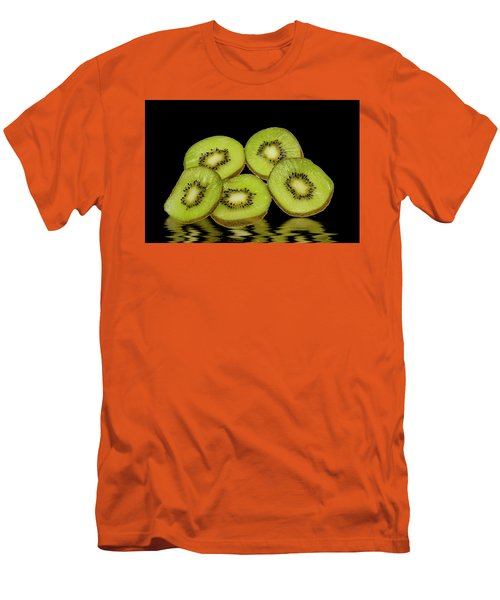 Fresh Kiwi Fruits Men's T-Shirt (Athletic Fit)