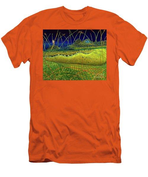 Swamp Gathering Men's T-Shirt (Slim Fit) by David Joyner