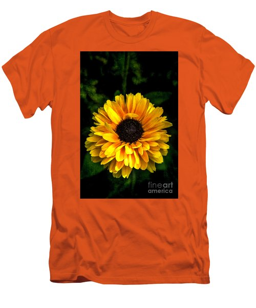 Men's T-Shirt (Slim Fit) featuring the photograph Frilly Rudi by Judy Wolinsky