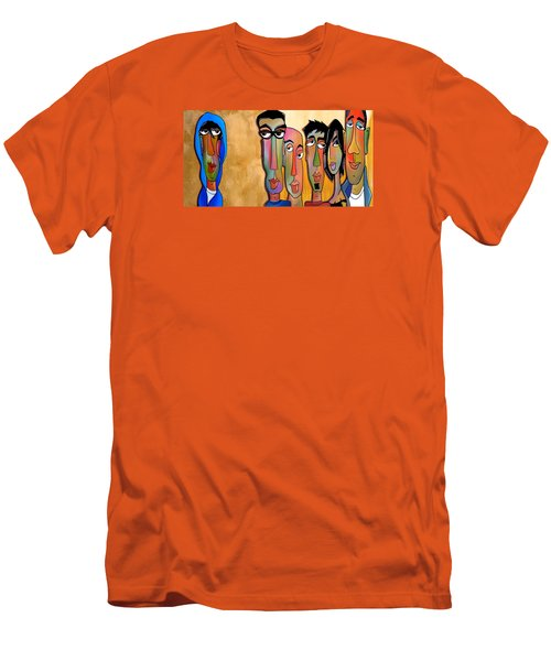 From The Rough Side Men's T-Shirt (Slim Fit) by Tom Fedro - Fidostudio