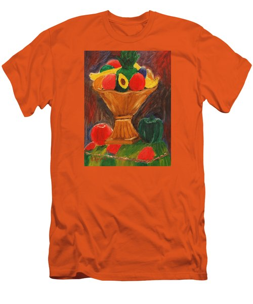 Fruits Still Life Men's T-Shirt (Slim Fit) by Jose Rojas