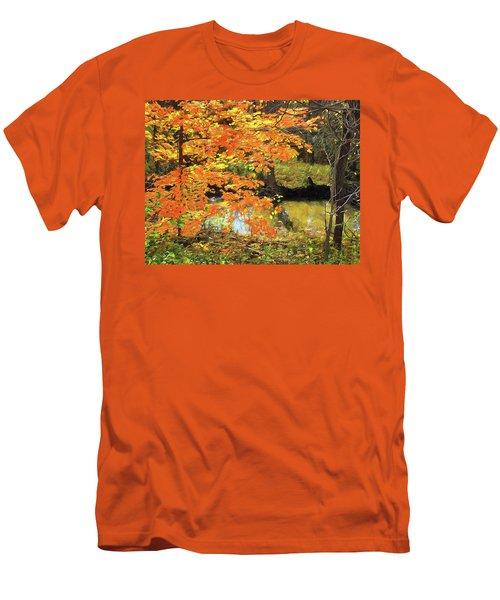 Full Autumn Bloom Men's T-Shirt (Athletic Fit)