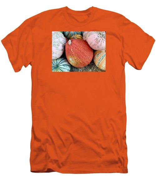Funky Pumpkins Men's T-Shirt (Athletic Fit)