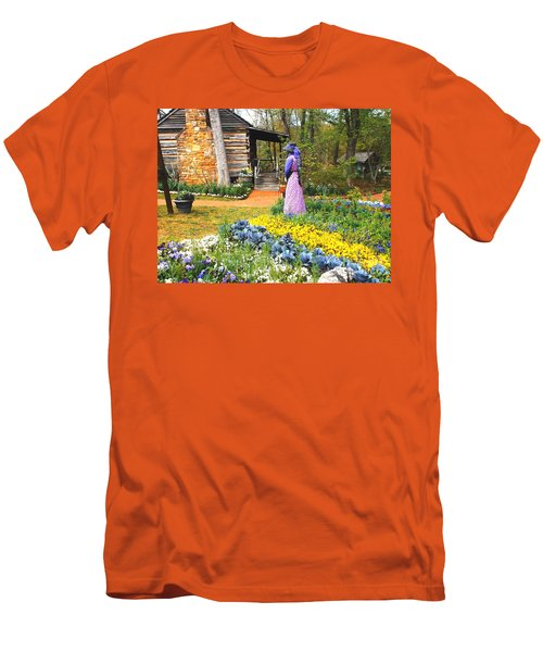 Garden Walk Men's T-Shirt (Athletic Fit)