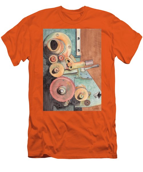 Gears Men's T-Shirt (Athletic Fit)