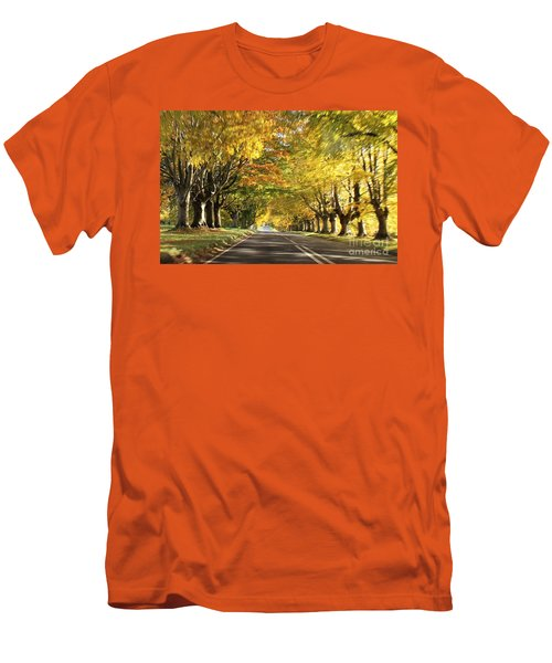 Men's T-Shirt (Slim Fit) featuring the photograph Getting Change... by Katy Mei