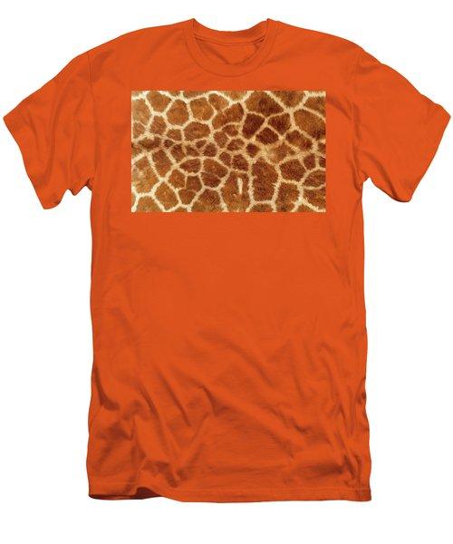 Giraffe Skin Close Up 2 Men's T-Shirt (Athletic Fit)