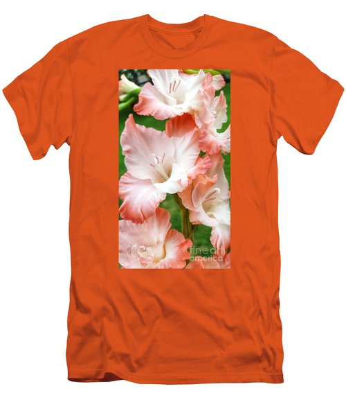 Gladiolus Ruffles  Men's T-Shirt (Athletic Fit)