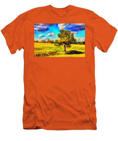 Glowing Afternoon Men's T-Shirt (Athletic Fit)