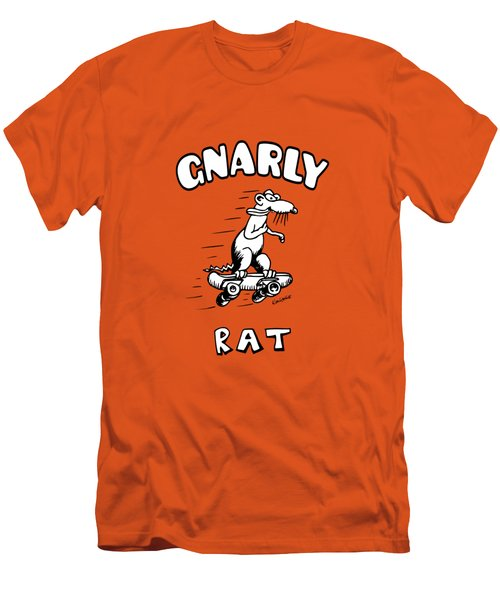 Gnarly Rat Men's T-Shirt (Athletic Fit)