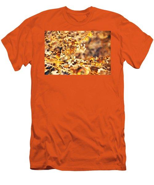 Gold Rush Men's T-Shirt (Slim Fit) by Jose Rojas