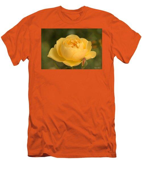 Golden Breath Men's T-Shirt (Slim Fit) by Amy Gallagher