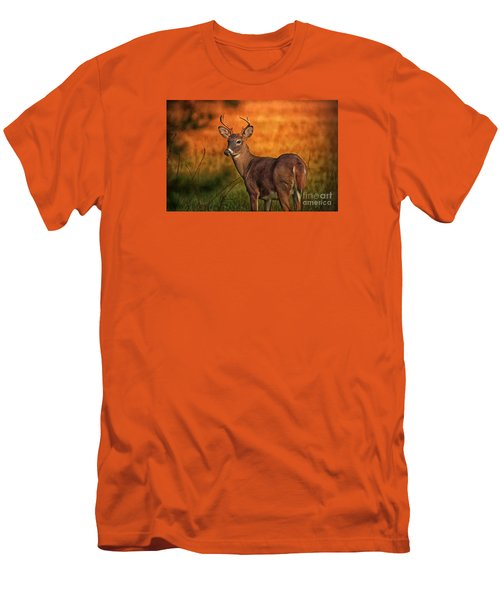 Golden Buck Men's T-Shirt (Athletic Fit)