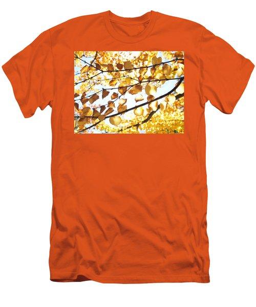Golden Glow Men's T-Shirt (Athletic Fit)