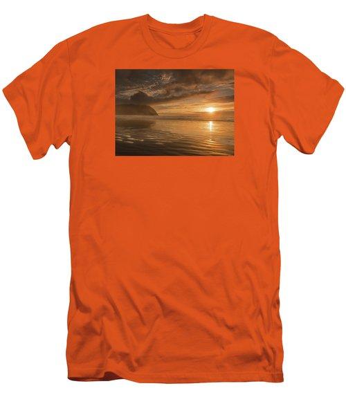 Golden Hour Men's T-Shirt (Slim Fit) by John Gilbert