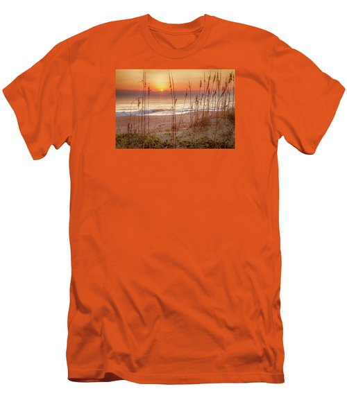 Golden Sunrise Men's T-Shirt (Slim Fit) by David Cote