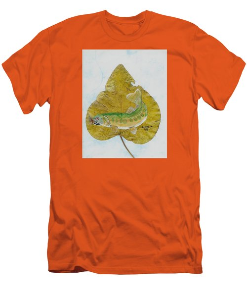 Golden Trout Men's T-Shirt (Slim Fit) by Ralph Root