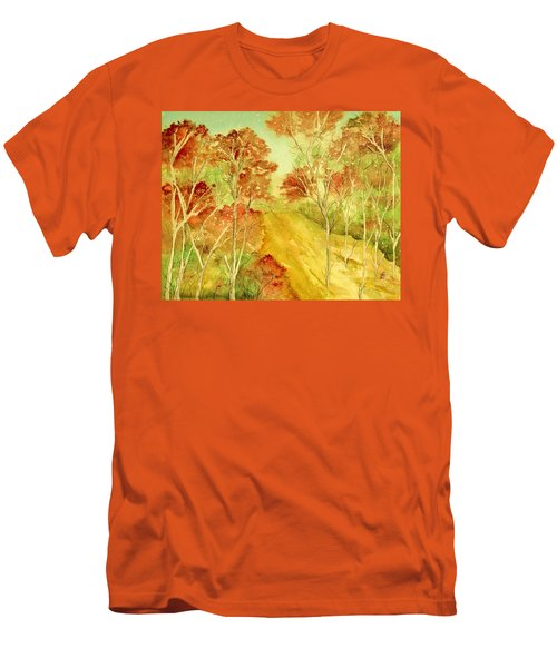 Golden Woods Men's T-Shirt (Athletic Fit)