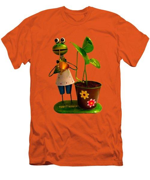 Good Luck Men's T-Shirt (Slim Fit) by Carlos Avila