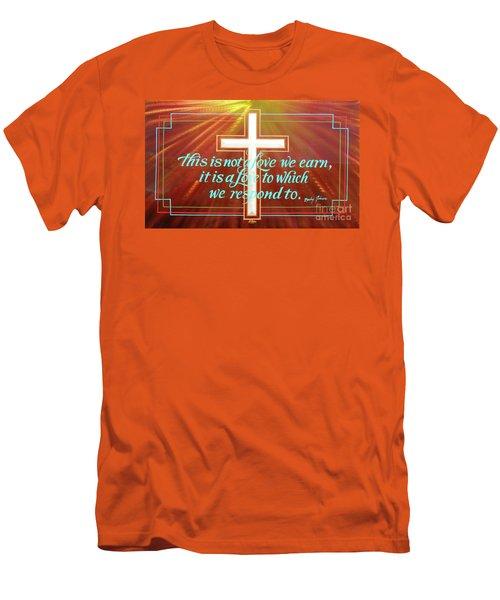 Grace  Men's T-Shirt (Slim Fit) by Alan Johnson