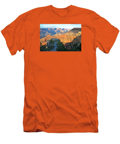 Grand Canyon South Rim At Sunset Men's T-Shirt (Athletic Fit)