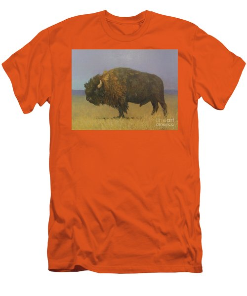 Great American Bison Men's T-Shirt (Athletic Fit)