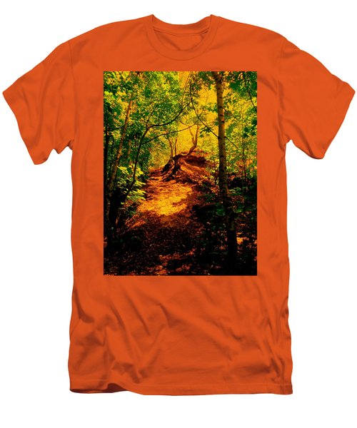 Green Silence Men's T-Shirt (Athletic Fit)