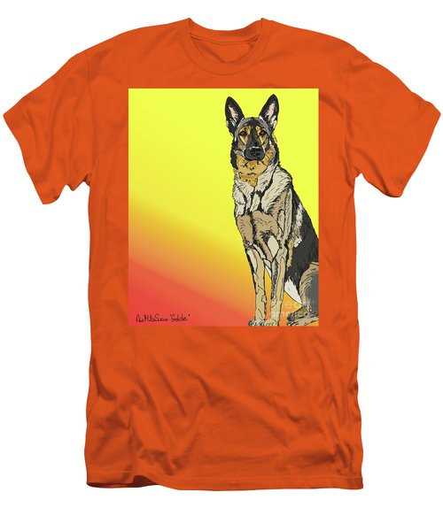 Gretchen In Digital Men's T-Shirt (Athletic Fit)