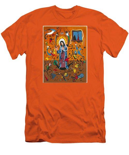 Guadalupe Visits Miro Men's T-Shirt (Slim Fit)