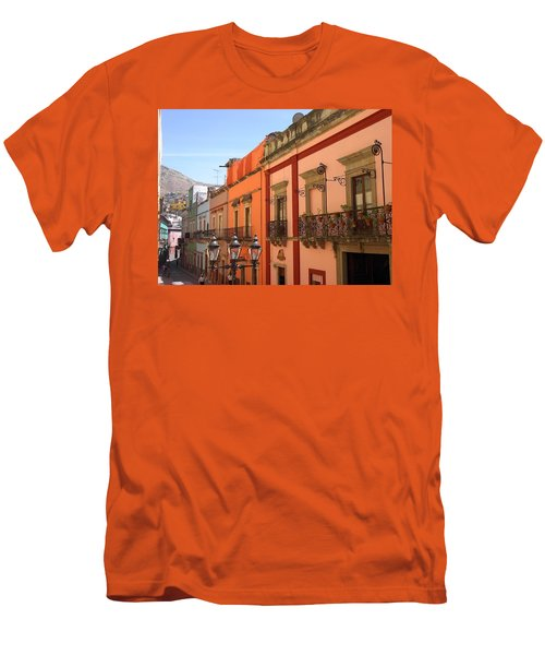 Men's T-Shirt (Slim Fit) featuring the photograph Guanajuato by Mary-Lee Sanders